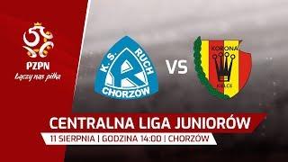 CLJ: Ruch Chorzów - Korona Kielce - Na żywo