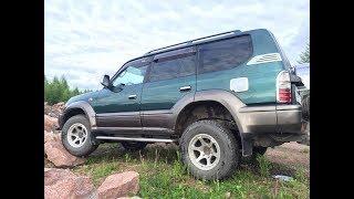 тест драйв Toyota Land Cruiser Prado 1kzt