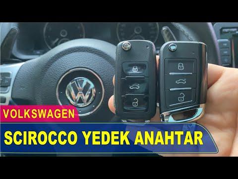 Volkswagen Scirocco Anahtar Yapımı | Yedek Kopyalama - Oto Anahtarcı İstanbul