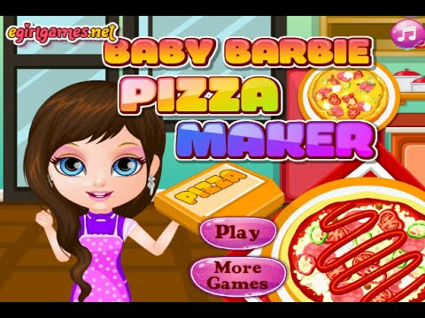 Baby Barbie Pizza Maker Online Free Flash Game Videos ...