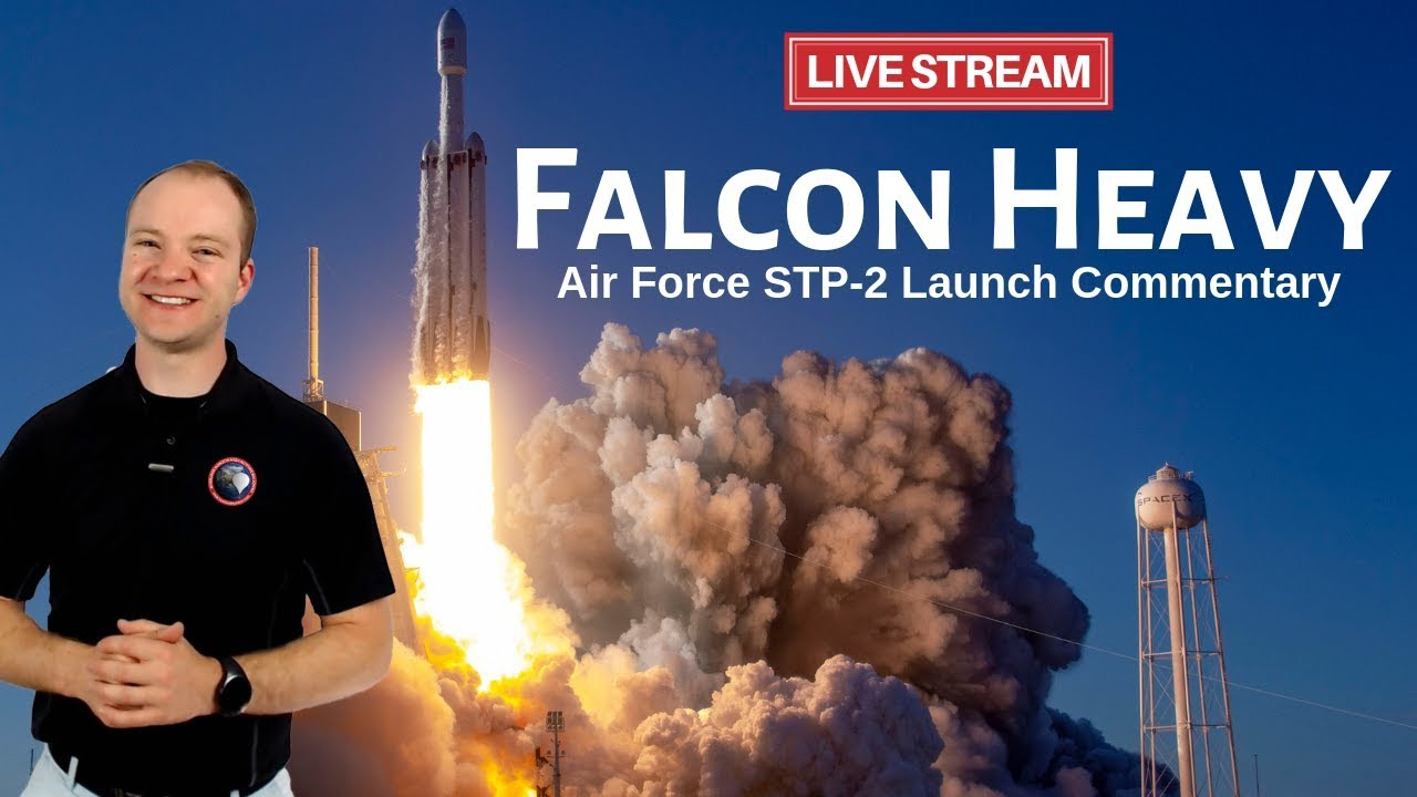 Watch SpaceX Falcon Heavy's 3rd Launch