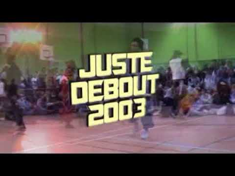 Juste Debout 2003 - Locking final - Gemini & Jeremy vs Franco & Nordine