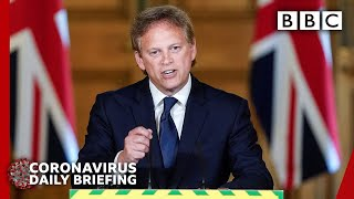 Coronavirus: UK minister quizzed on PM aide's lockdown journey - Covid-19 Government Briefing 🔴  BBC