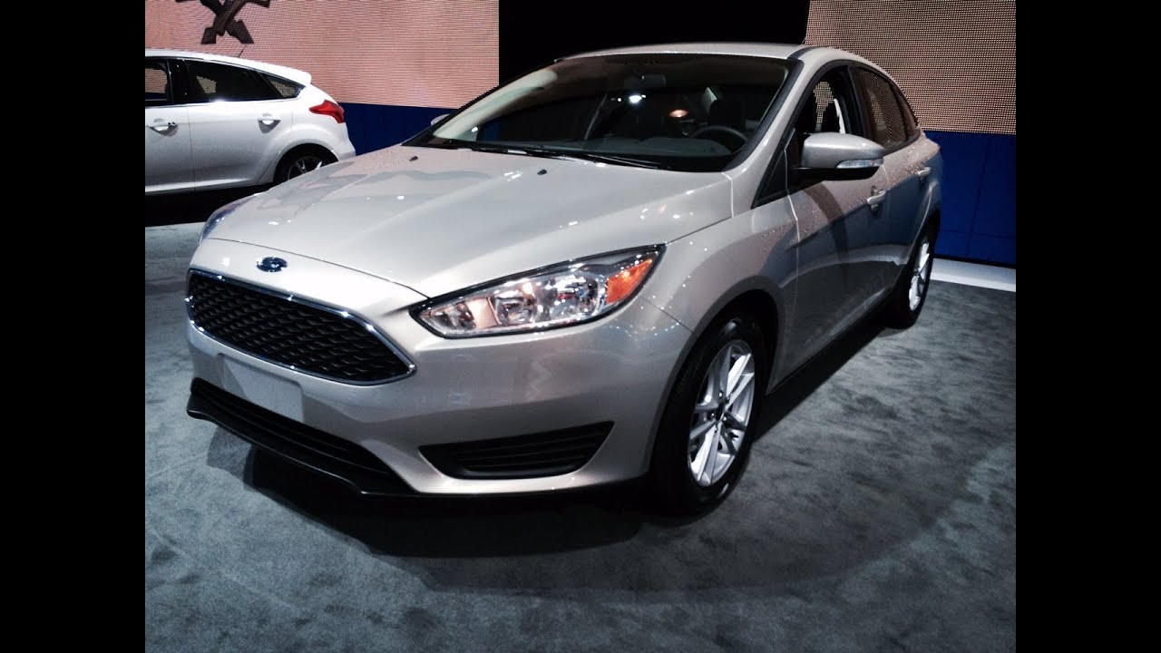 Ford Focus Sedan Youtube