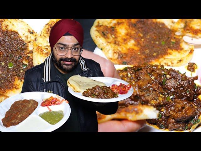 Mutton Tikka wala Kulcha | Crispy Mutton Champ