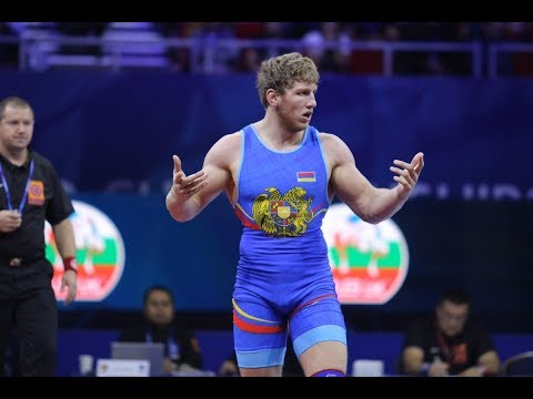 Artur Aleksanyan Vs Aleksandr Golovin 97kg  1/2 финала  Евро-игры 2019