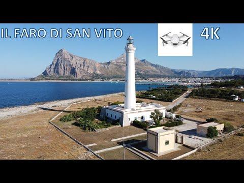 IL FARO DI SAN VITO - CINEMATIC 4K - SICILY DRONE