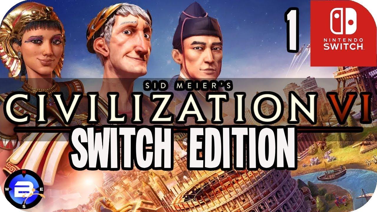 Civilization 6 on Switch! - #1 Rule Britannia (Civ VI Nintendo Switch)