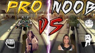 Tanki Online - PRO vs NOOB (troll video) #2