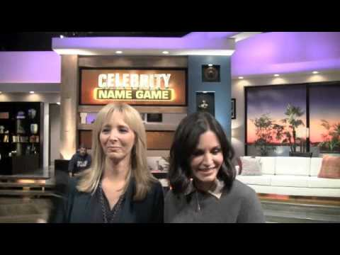 Courteney Cox, Lisa Kudrow Interview - Celebrity Name Game