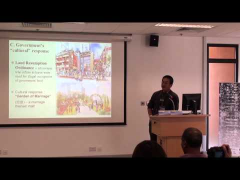 "Y.C. CHEN & Mirana May SZETO - ""Right to the City: Preserving Our Neighbourhood Movement..."