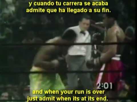 Eminem - Till I Collapse (ft. Nate Dogg) (Joe Frazier VS Muhammad Ali) Lyrics Subtitulado en español
