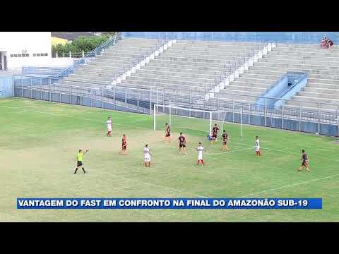 Fast faz 1x0 no primeiro jogo da final do Amazonense Sub-19