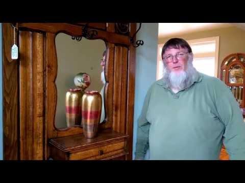 Living Estate Sale Preview - Hydesville - Part 10 Victorian Hall Tree - Royal Scotsman Auction