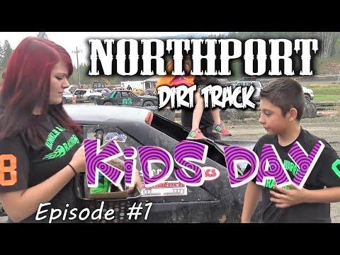 KILLER DIRT TRACK RACING !! KiD's dAy  !  NorthPort Wa