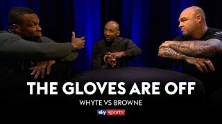 GLOVES ARE OFF: Dillian Whyte vs Lucas Browne 👊