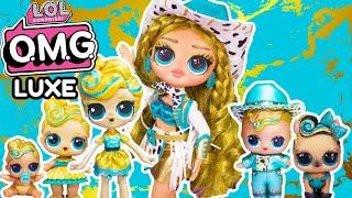 LOL Surprise OMG DIY LUXE Big Sister! OMG DIY Makeover Big Sister OMG Fashion Doll