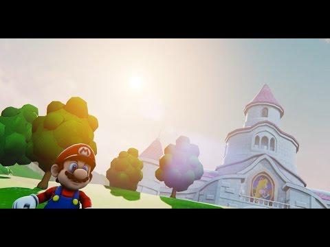 Unreal Engine 4 [4 7 6] Super Mario 64 PeachCastle + Download link