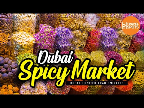 Dubai Spicy Market, Deira, Malayalam Vlog