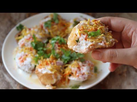 Street style dahi puri recipe indian famous street food