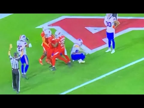 Hail Mary: Kyler Murray to Deondre Hopkins 43-Yard TD Pass 11 Sec Left Lifts Cardinals Over Bills