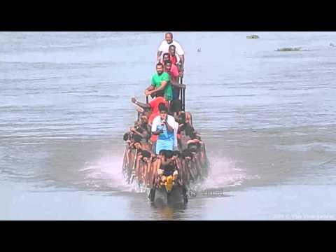 Karichal Chundan Jesus Boat Club Trial for Presidents Trophy Boat race 2014