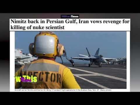 Military Times   Nimitz back in Persian Gulf, Iran vows revenge for killing of nuke scientist.