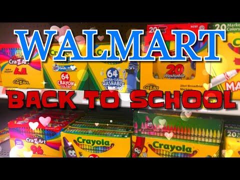 Back to school Walmart 2019