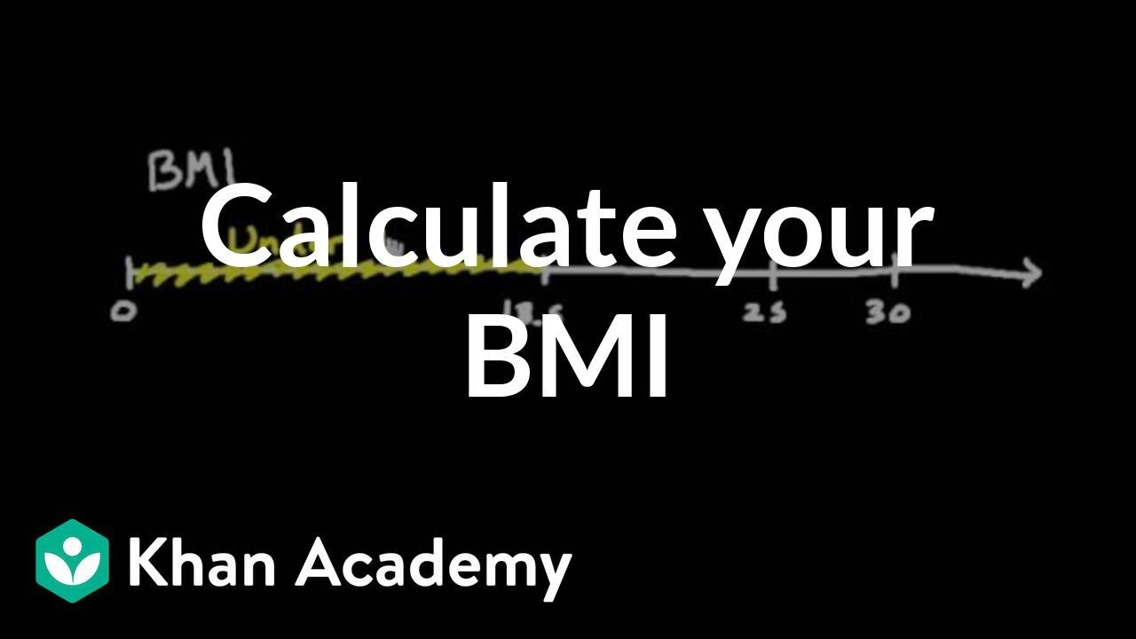 Calculate Your Own Body Mass Index