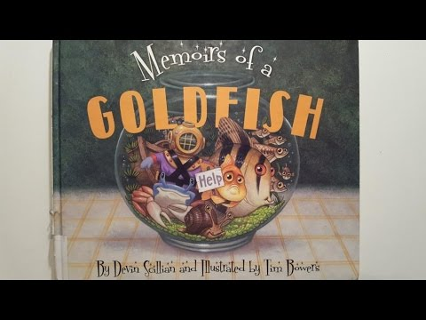 Memoirs Of A Goldfish By Devin Scillian - Read Aloud Children's Book