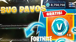 SECRET CODES TO GET PAVOS ET NIVEAUX GRATUIT s'en est à FORTNITE! (THE TRUTH BUG SAISON 8)