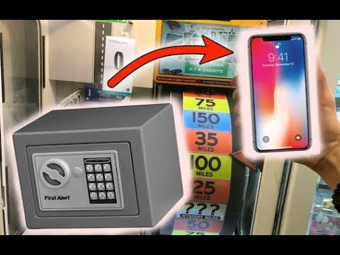 WON IPhone X FROM LOCKED SAFE!!! | JOYSTICK