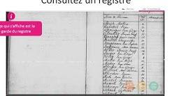 Registres paroissiaux et état civil numérisés