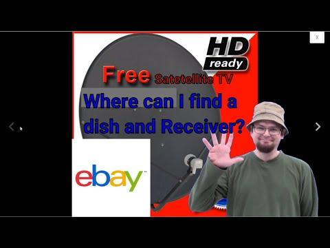 Free To Air Satellite Starter Dish #FreeSatelliteTV #FTASatellite #SatelliteChannels