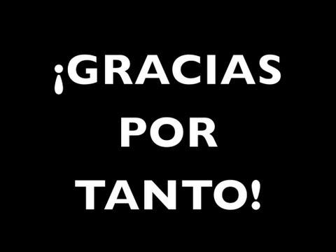 Gracias Por Todo Gracias Por Tanto