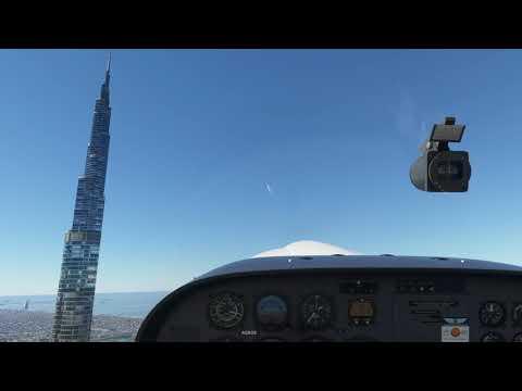 Microsoft Flight Simulator 2020 Dubai Burj Al Khalifa