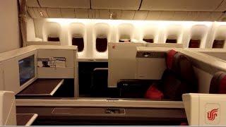 4k uhd air china boarding inside first class cabin 777 300er forbidden pavillion boeing