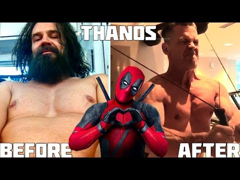Thanos VS. Deadpool ★ Josh Brolin And Ryan Reynolds | Workout And Motivation