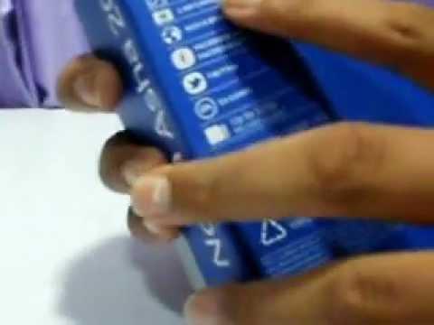 Nokia Asha 202 Unboxing(English)