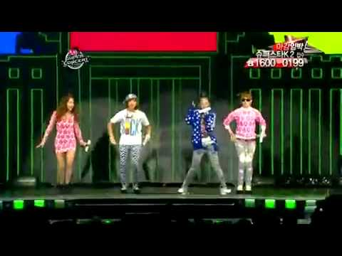 2NE1 - Try To Follow Me Live