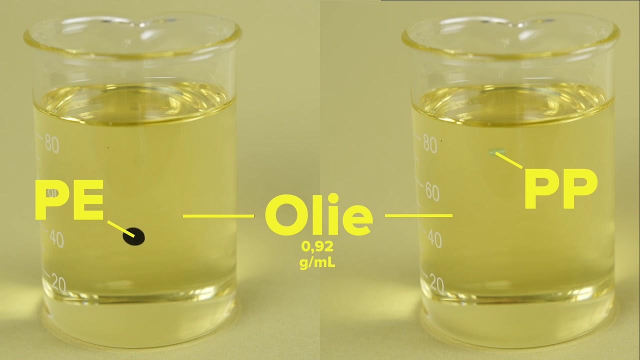 Prøve i olie