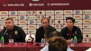 Milovan Rajevac  Press Conference - Hong Kong 香港 Vs Thailand 泰國 - Football Friendly