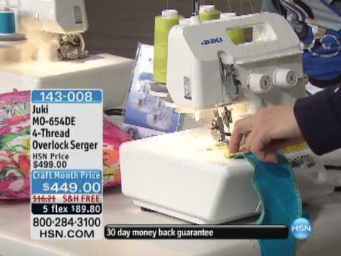 Juki MO-654DE 4-Thread Overlock Serger