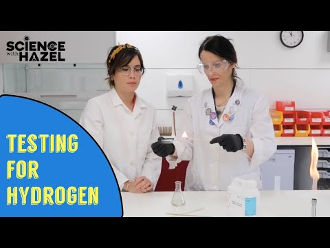 How To Test For Hydrogen | Chemistry Practicals