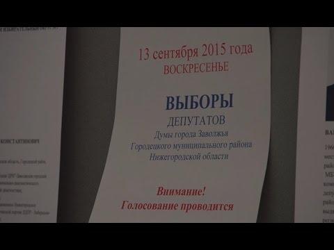 Досрочное голосование в Думу города Заволжья