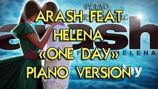 Arash feat. Helena - One Day (Instrumental piano version)