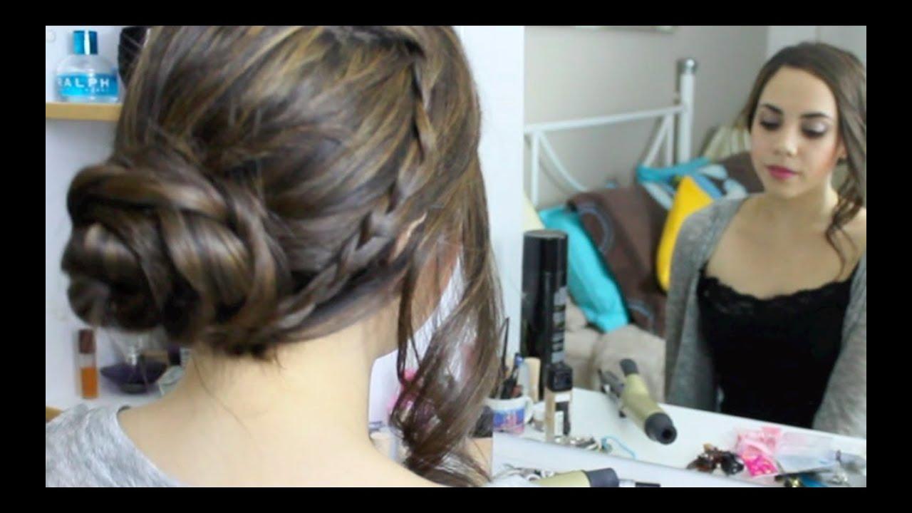 5 peinados r pidos y f cil de hacer youtube - Peinados faciles y rapidos paso a paso ...