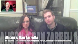 How to market your brand on Facebook w/ Dan & Alison Zarrella (Interview; 3 of 3)