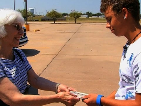 On the Road: Teen repays father's debt