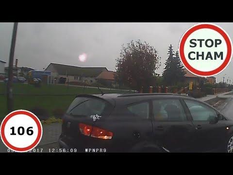 Stop Cham #106 – Niebezpieczne i chamskie sytuacje na drogach